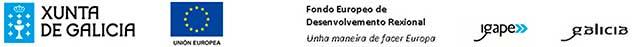 PROXECTO COFINANCIADO POR IGAPE, XUNTA DE GALICIA E FONDO EUROPEO DE DESENVOLVEMENTO REXIONAL DO PROGRAMA OPERATIVO 2014-2020